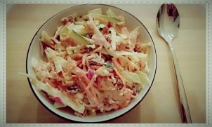 Healthy Coleslaw Salad