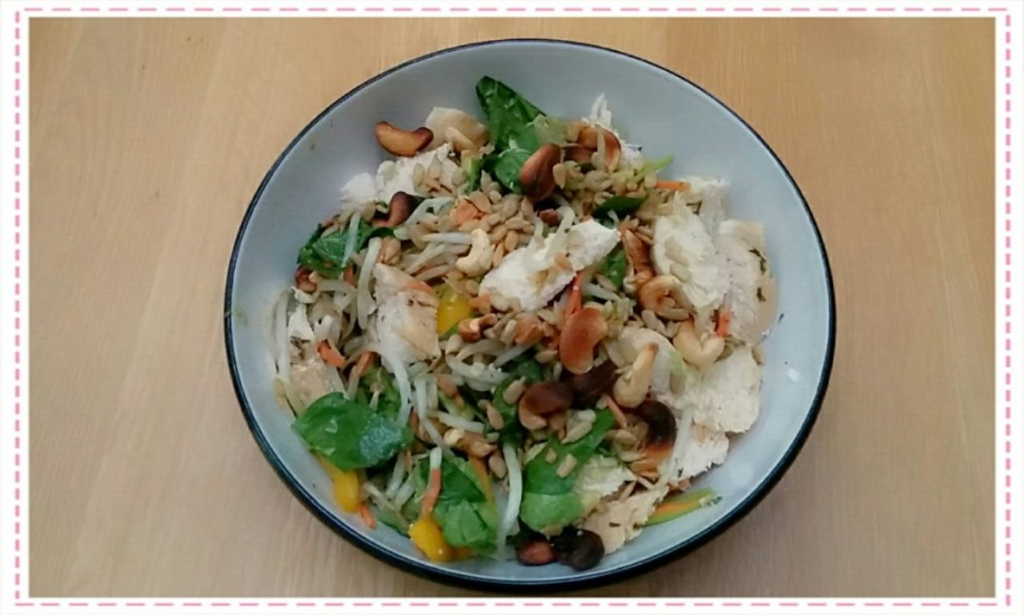 Chicken Beansprout salad