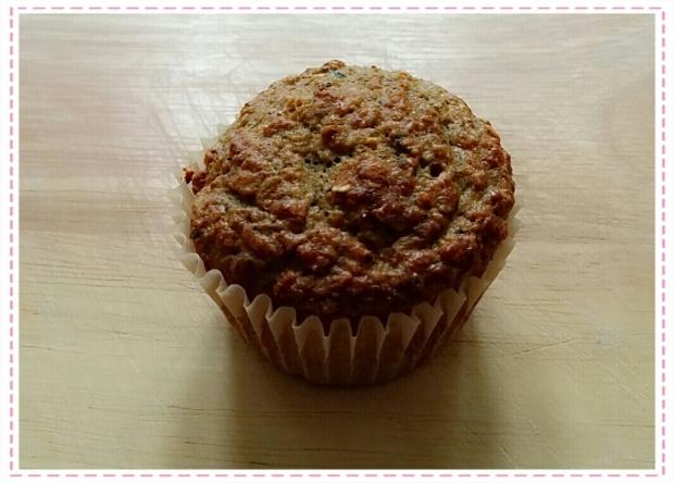 Courgette muffin